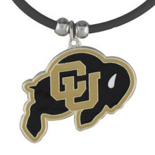 Colorado Buffaloes Cord Pendant Necklace NCCA College Sports CPR57