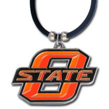 Oklahoma State Cowboys Cord Pendant Necklace NCCA College Sports CPR58