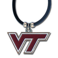 Virginia Tech Hokies Cord Pendant Necklace NCCA College Sports CPR61