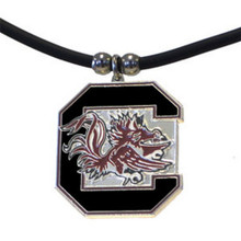 South Carolina Gamecocks Cord Pendant Necklace NCCA College Sports CPR63