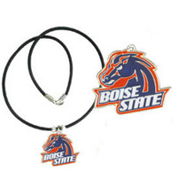 Boise State Broncos Cord Pendant Necklace NCCA College Sports CPR73
