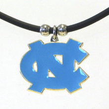 North Carolina Tar Heels Cord Pendant Necklace NCCA College Sports CPR9