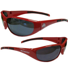 Ohio State Buckeyes Wrap Sunglasses NCCA College Sports 2CSG38