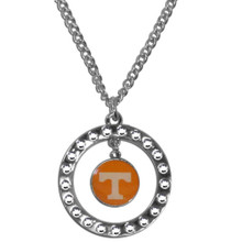 Tennessee Volunteers Rhinestone Hoop Necklace NCCA College Sports CRN25