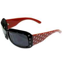 Alabama Crimson Tide Rhinestone Designer Sunglasses NCCA College Sports CSG13W