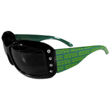 Oregon Ducks Rhinestone Designer Sunglasses NCCA College Sports CSG50W