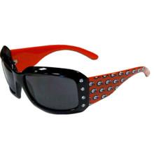 Georgia Bulldogs Rhinestone Designer Sunglasses NCCA College Sports CSG5W