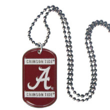 Alabama Crimson Tide Dog Tag Necklace NCCA College Sports CTN13