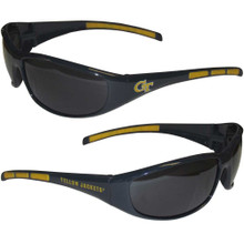 Georgia Tech Yellow Jackets Wrap Sunglasses NCCA College Sports 2CSG44