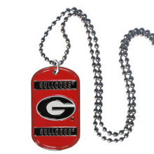 Georgia Bulldogs Dog Tag Necklace NCCA College Sports CTN5