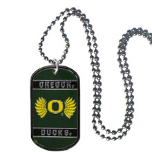 Oregon Ducks Dog Tag Necklace NCCA College Sports CTN50