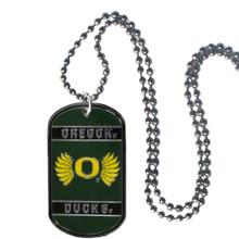 Oregon Ducks Dog Tag Necklace NCCA College Sports CTN50