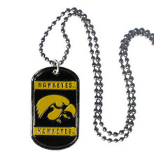 Iowa Hawkeyes Dog Tag Necklace NCCA College Sports CTN52