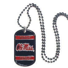 Mississippi Rebels Dog Tag Necklace NCCA College Sports CTN59