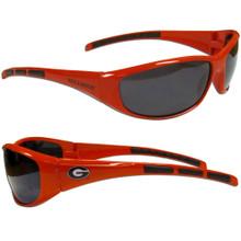 Georgia Bulldogs Wrap Sunglasses NCCA College Sports 2CSG5