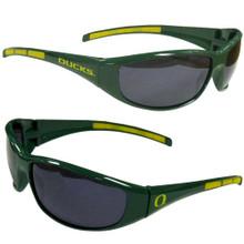 Oregon Ducks Wrap Sunglasses NCCA College Sports 2CSG50