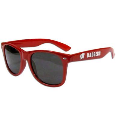 Wisconsin Badgers Beachfarer Sunglasses NCCA College Sports CWSG51