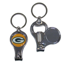 Green Bay Packers 3 in 1 Key Chain