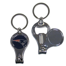 New England Patriots 3 in 1 Key Chain