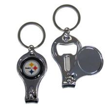 Pittsburgh Steelers 3 in 1 Key Chain