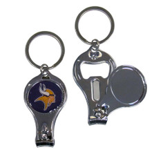 Minnesota Vikings 3 in 1 Key Chain