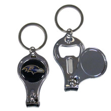 Baltimore Ravens 3 in 1 Key Chain