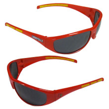 Louisville Cardinals Wrap Sunglasses NCCA College Sports 2CSG88