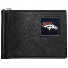 Denver Broncos Bill Clip Wallet MLB Baseball FBCW020