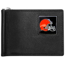 Cleveland Browns Bill Clip Wallet MLB Baseball FBCW025