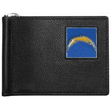 San Diego Chargers Bill Clip Wallet MLB Baseball FBCW040