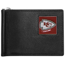 Kansas City Chiefs Bill Clip Wallet MLB Baseball FBCW045