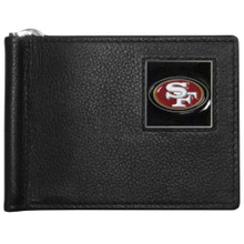 San Francisco 49ers Bill Clip Wallet MLB Baseball FBCW075