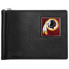 Washington Redskins Bill Clip Wallet MLB Baseball FBCW135