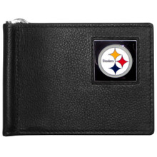 Pittsburgh Steelers Bill Clip Wallet MLB Baseball FBCW160