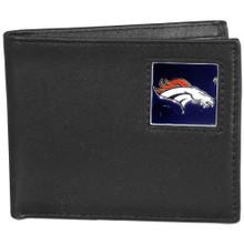 Denver Broncos Black Bifold Wallet