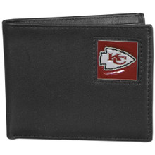 Kansas City Chiefs Black Bifold Wallet