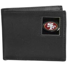 San Francisco 49ers Black Bifold Wallet