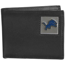 Detroit Lions Black Bifold Wallet