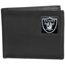 Oakland Raiders Black Bifold Wallet