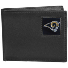St. Louis Rams Black Bifold Wallet