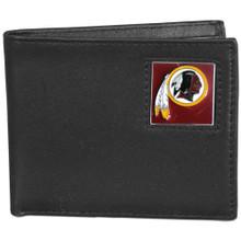 Washington Redskins Black Bifold Wallet