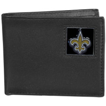 New Orleans Saints Black Bifold Wallet