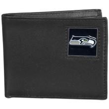 Seattle Seahawks Black Bifold Wallet