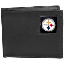 Pittsburgh Steelers Black Bifold Wallet