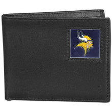 Minnesota Vikings Black Bifold Wallet