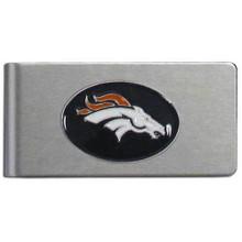 Denver Broncos Brushed Money Clip