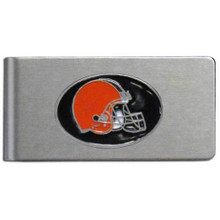 Cleveland Browns Brushed Money Clip
