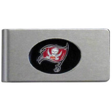 Tampa Bay Buccaneers Brushed Money Clip