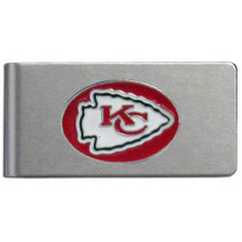 Kansas City Chiefs Brushed Money Clip