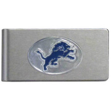 Detroit Lions Brushed Money Clip